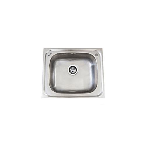 AXIA อ่างล้างจาน 1หลุมไม่มีที่พัก ALT 60  สีโครเมี่ยม