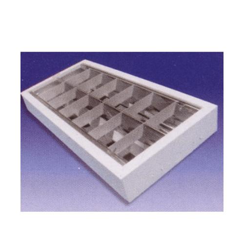 ITL โคมรีเฟล็กซ์ ลอย(R)เตี้ย 2X36/40W ( A ) 30001956 ขาว