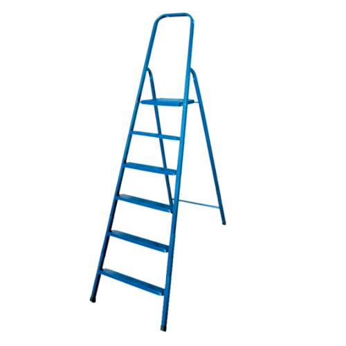 HUMMER บันไดเหล็ก 6 ขั้น C200TA สีฟ้า