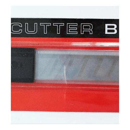 HUMMER ใบมีดคัตเตอร์ 18MM (แพ็ค 10 ใบ) JR-BLADE