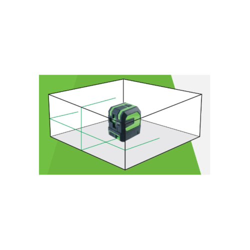 HUMMER เครื่องตั้งระดับเลเซอร์ (เส้นสีเขียว) รุ่น XBR-L06-1H1V/G