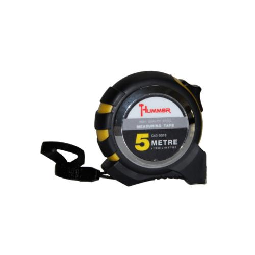 HUMMER  ตลับเมตร 5เมตร  C43-5019 สีดำ