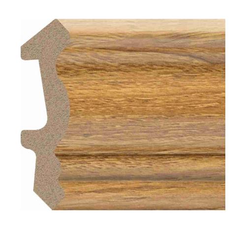 GREAT WOOD ไม้บัวบน PS   JC194-7376 53.5x14x2900 mm(กxหนาxย)  สีน้ำตาลอ่อน