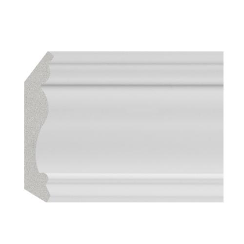 GREAT WOOD ไม้บัวบน PS รุ่น JC335-W1 70x14.2x2900mm. GREATWOOD JC335-W1 สีขาว