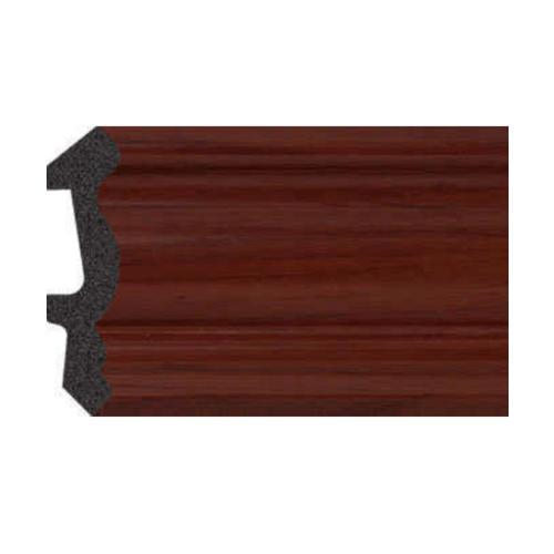 GREAT WOOD ไม้บัวบน PS   JC194-4 53.5x14x2900mm.  สีน้ำตาลเข้ม