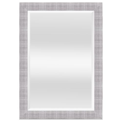 NICE กระจกเงามีกรอบ สีซิลเวอร์ 60x90 cm.   4867-WK-Q-1396