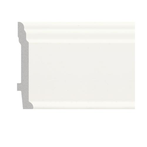 GREAT WOOD บัวพื้น JC192-W1 สีขาว 89x11.5x2900mm GREATWOOD JC192-W1