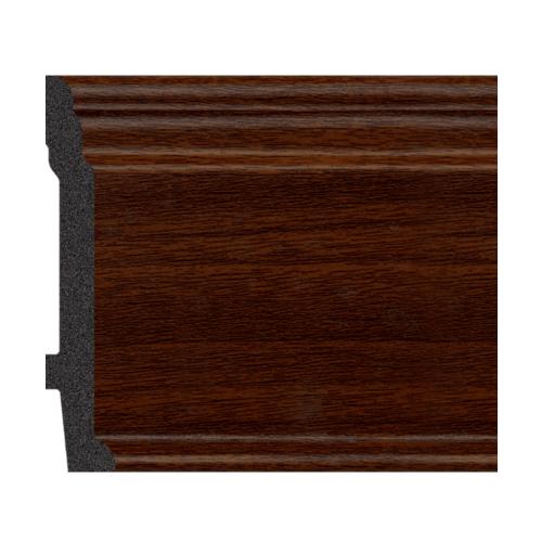 GREAT WOOD บัวพื้น JC192-3 สีวอลนัท 89x11.5x2900mm GREATWOOD JC192-3