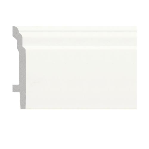 GREAT WOOD บัวพื้น JC193-W1 สีขาว 92x16x2900mm. JC193-W1