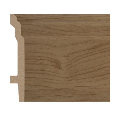 GREAT WOOD บัวพื้น สีโอ๊ค ขนาด 92x16x2900mm. JC193-2