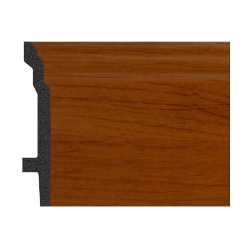 GREAT WOOD บัวพื้น JC193-4 สีเอลเดอร์ 92x16x2900mm. GREATWOOD JC193-4 สีน้ำตาลเข้ม