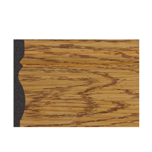 GREAT WOOD บัวพื้น JC195-1 สีบีส 80x10x2900mm. GREATWOOD JC195-1 สีน้ำตาลอ่อน