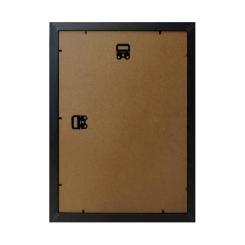 COZY กรอบรูป  ขนาด A3 เมทัลลิค สีดำ