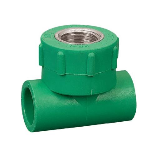 ERA สามทางเกลียวใน (20mm)x(1/2นิ้ว) PPR PRT03    สีเขียว