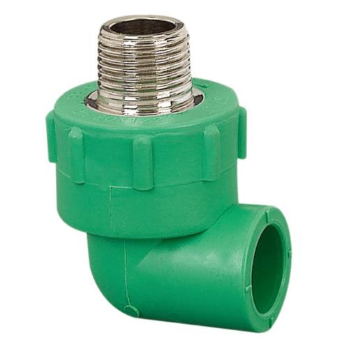 ERA ข้องอเกลียวนอก (20mm)x(1/2นิ้ว) PPR PRE05  สีเขียว