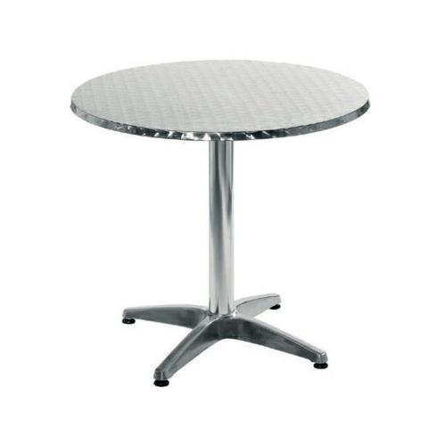 Tree O โต๊ะสเตนเลส ทรงกลม DH-3002 RD สีโครเมี่ยม