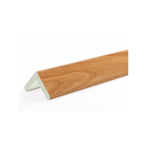 GREAT WOOD ไม้บัวครอบมุม PVC ขนาด19x19x2700mm. CH01  FCN-0191B