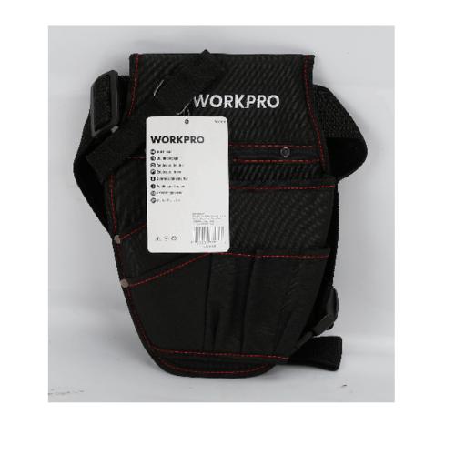 WORKPRO กระเป๋าพร้อมเข็มขัดใส่อุปกรณ์ช่าง W081016