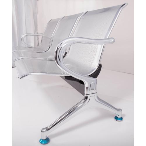 SMITH เก้าอี้แถว 3ที่นั่ง CQ-3363   สีเงิน