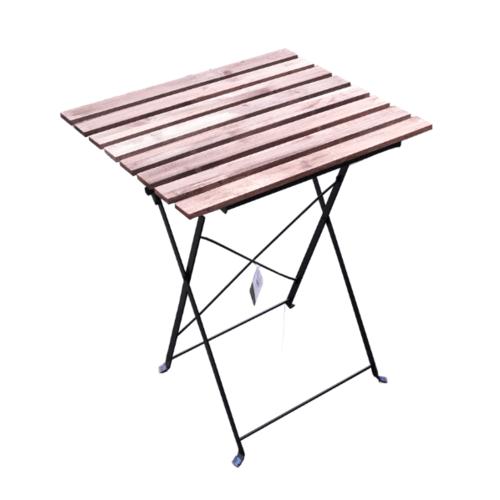 Tree O โต๊ะสนาม ARK-MT02 W54*D55*H70 สีน้ำตาลอ่อน