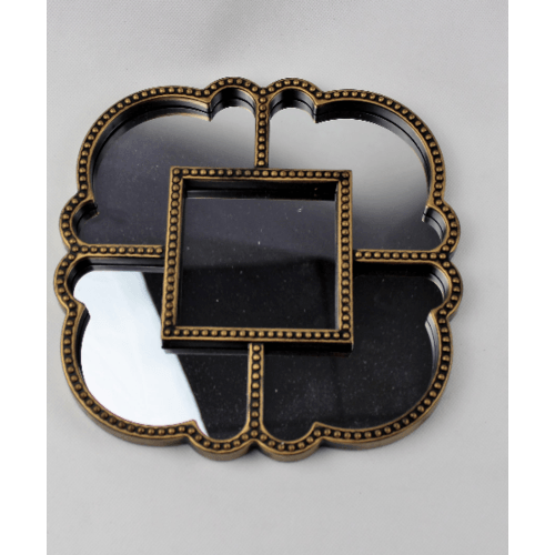 NICE ชุดกระจกตกแต่ง   BXL-1710518 (6ชิ้น/ชุด) สีทอง