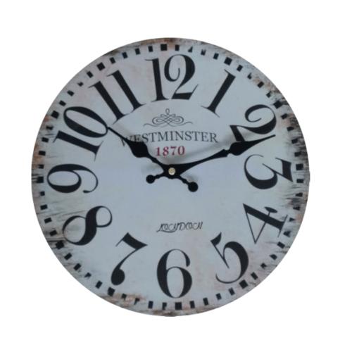 ULA นาฬิกาแขวนผนัง MDF 12 นิ้ว  CR30M-4