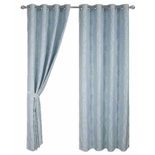 Davinci ผ้าม่านหน้าต่าง  150x160ซม.  Grigio chiaro  สีฟ้า