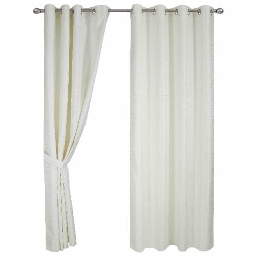 Davinci ผ้าม่านประตู  150x250ซม.   Blanco - สีเบจ