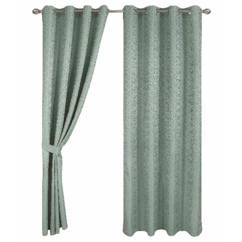 Davinci ผ้าม่านหน้าต่าง  150x160ซม.   Verde สีเขียว