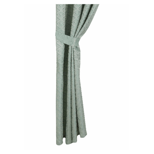 Davinci ผ้าม่านประตู  150x250ซม.  Verde  - สีเขียว