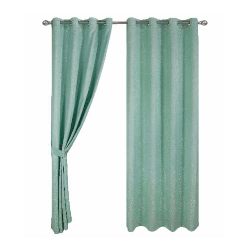 Davinci  ผ้าม่านหน้าต่าง ขนาด150x160ซม.   Zielony สีเขียว