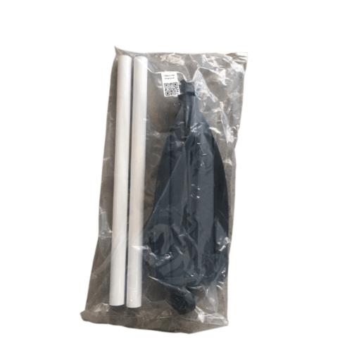 FORTEM ไม้พายพลาสติก ขนาด 18x130x3ซม  PFB-OAR สีดำ