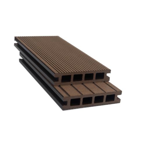 GREAT WOOD ไม้พื้นเทียม K30-140 สีกาแฟ ขนาด 30x140x2800มม. K30-140 สีน้ำตาลเข้ม