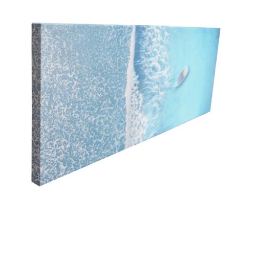 NICE รูปภาพพิมพ์ผ้าใบ View-Sea ขนาด 90x36ซม. (ก.xส.) (ทะเล) C9436-9