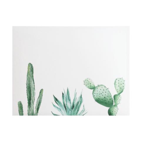 NICE รูปภาพพิมพ์ผ้าใบ Plant ขนาด  70x50 ซม. (ก.xส.) (ต้นกระบองเพรช) C7050-6