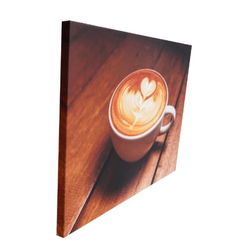 NICE รูปภาพพิมพ์ผ้าใบ Coffee Shop ขนาด 40x50ซม. (ก.xส.) (latte Art) C5040-1