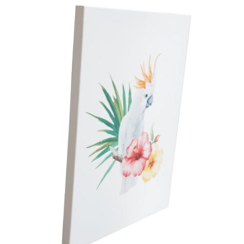 NICE รูปภาพพิมพ์ผ้าใบ Plant  ขนาด  30x40 ซม. (ก.xส.) (มะพร้าว) C3040-2