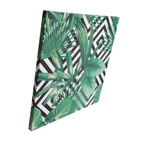 NICE รูปภาพพิมพ์ผ้าใบ Plant  ขนาด  50x50 ซม. (ก.xส.) (ไม้ประดับ ) C5050-1