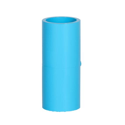 VAVO ข้อต่อตรง หนา  ขนาด 3/4นิ้ว  สีฟ้า