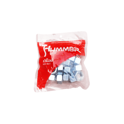 HUMMER หัวน็อต HM ขนาด 3/4 (เกลียวหุน) (1KG/ถุง) HN-34  สีโครเมี่ยม