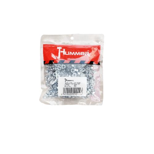 HUMMER หัวน็อต HM ขนาด M6 (เกลียวมิล) (1KG/ถุง) HN-M6 สีโครเมี่ยม