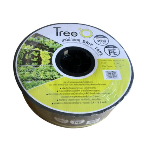 Tree O เทปน้ำหยด ขนาด 10x500M 2L/h DP1810