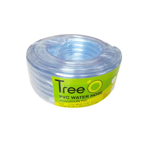 """Tree O สายยางม้วใส   ขนาด 5/8"""" x15M PVC GH-58-15"""