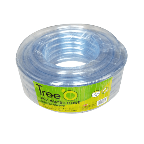 Tree O สายยางม้วนใส  PVC ขนาด 3/4นิ้ว  x15M GH-34-15