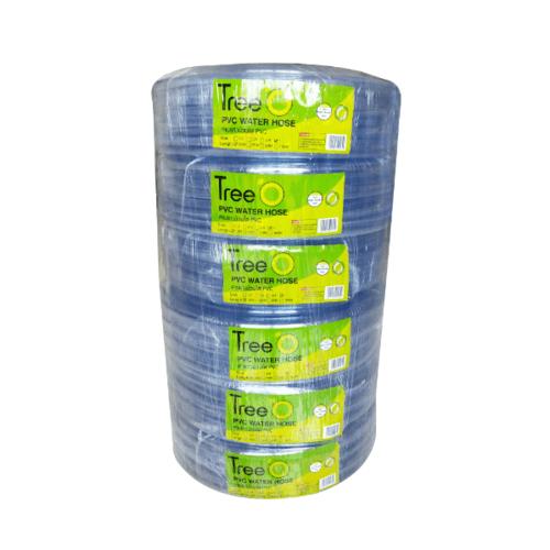 Tree O สายยางม้วนใส  PVC  ขนาด 1นิ้ว x15M GH-1-15