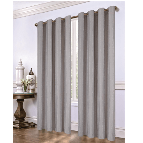 Davinci ผ้าม่านหน้าต่าง ขนาด 150X160ซม.  BC-010-05-WDGR  สีเทา