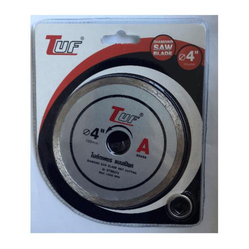 TUF ใบตัดเพชร แบบแห้ง  4นิ้วx1.6x20-16mm DTSB274 เกรด A