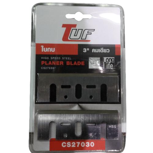 "TUF ใบกบ 3"" คมเดียว 82x29x3mm. -"