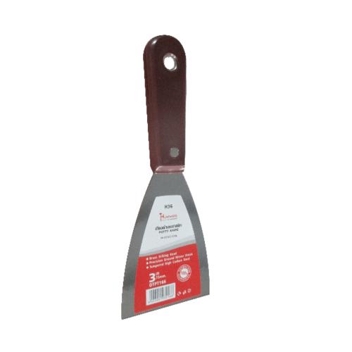 HUMMER เกียงโป๊วสี 6นิ้วด้ามพลาสติก DTPT197 6