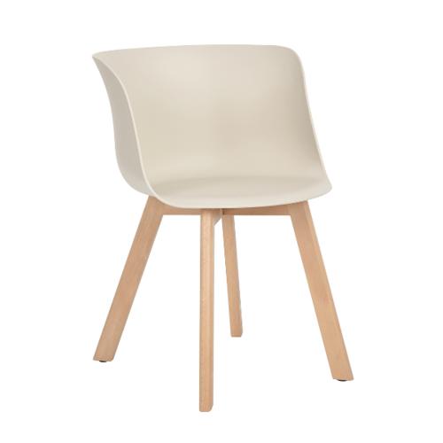 Pulito เก้าอี้ สีครีม DEW